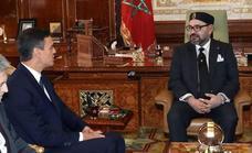 Mohamed VI expresa su intención de abrir una «nueva etapa» con España