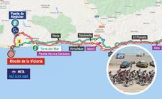 Horarios y dónde ver el paso de La Vuelta Ciclista a España por Málaga