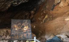 Las nuevas tecnologías se aplicarán por primera vez al arte rupestre de la única cueva declarada BIC en La Araña