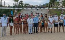 Los favoritos se coronan en el Campeonato de España de voley-playa