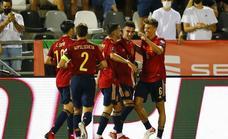 España recupera sensaciones ante la débil Georgia