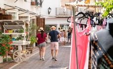 La actividad en el Casco Antiguo de Marbella arroja cifras esperanzadoras tras el verano