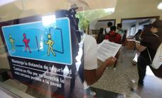 Las clases en la Universidad, pendientes de que la Junta rebaje la distancia entre alumnos