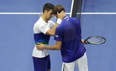Medvedev frustra la historia de Djokovic