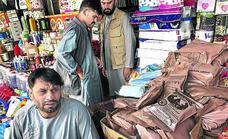 El 'mercado Bush' sobrevive al nuevo régimen afgano