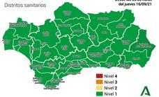 Andalucía al completo se sitúa a nivel 1 de alerta sanitaria