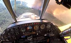 Juan Carlos Gómez: «Desde el cielo, el incendio era dantesco; no se veía casi nada en un perímetro de 80 kilómetros»