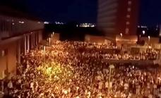 Unas 25.000 jóvenes, de botellón en la Universidad Complutense