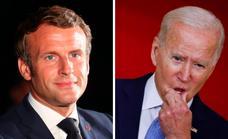 Macron exige a Biden una «explicación» por la «grave crisis» de los submarinos