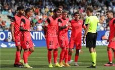Nefasto partido del Málaga (4-0)