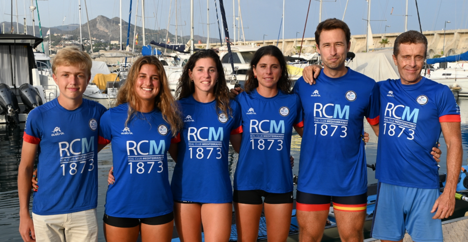 El cuatro scull del Club Mediterráneo arranca este viernes el Mundial de remo de mar
