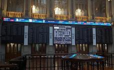 El Ibex-35 recupera los 8.800 puntos a la espera de la Fed