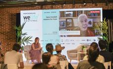 La etóloga Jane Goodall clausura la primera edición del Mercedes-EQ Welife Festival