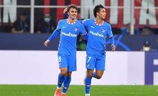 Griezmann y Suárez sellan la remontada agónica del Atlético en Milán