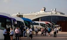 Los cruceristas llegan a Málaga para visitar toda la provincia
