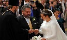 El heredero al trono ruso se casa con la italiana Rebecca Bettarini