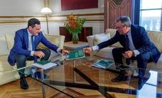 Juanma Moreno y Espadas acercan posiciones y abren la puerta a un acuerdo sobre presupuestos