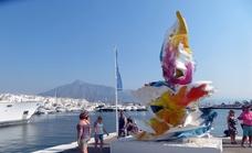 El arte contemporáneo florece en Puerto Banús