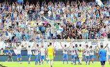 El Málaga ya juega con doce