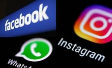 WhatsApp, Facebook e Instagram comienzan a funcionar lentamente