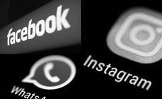 Instagram, WhatsApp y Facebook: más de seis horas de caída global