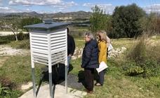 La estación meteorológica del colegio El Pinar, una aliada de la AEMET