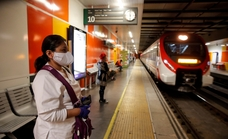 Renfe suprimirá hoy 12 trenes en la Costa por la falta de maquinistas