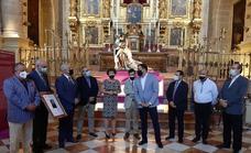La Unión de Cofradías de Úbeda visita la exposición de imágenes titulares en la Catedral de Málaga