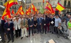 Vox reivindica en Málaga la figura de Isabel la Católica y el «orgullo» de pertenencia a España
