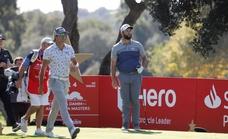 Rahm se queda sin margen de error en el Estrella Damm Andalucía Masters en un gran día de Cabrera Bello