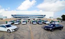 La plantilla del Unicaja usará coches eléctricos esta temporada