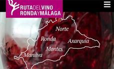 La Ruta del vino de Ronda y Málaga estrena web