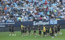 El Málaga está convencido de que La Rosaleda es ya un fortín