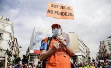 Jubilados de toda España se echan a la calle por unas pensiones «justas»