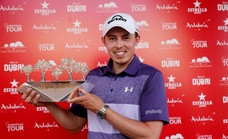 Matt Fitzpatrick, brillante campeón del Estrella Damm N.A. Andalucía Masters