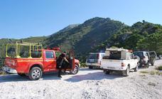 Rescatan en apenas dos días a un herido y a tres personas perdidas en la montaña en Málaga
