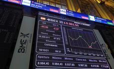El Ibex 35 inicia la semana con una caída del 0,3% y atento a China