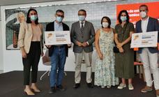 Vídeo: El Aula de Cultura de SUR entrega los galardones del Premio Pablo Aranda de microrrelatos