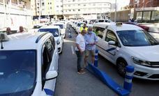 El taxi de Málaga refuerza servicios y se sitúa ya en niveles previos a la pandemia