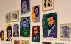 Tim Kerr, la viva imagen del 'underground', deslumbra con su arte