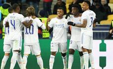 El Real Madrid vuelve a sonreír en Kiev a ritmo de samba