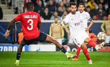 El Sevilla continúa abocado al empate en Champions