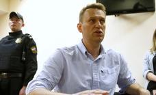 El opositor ruso Alexéi Navalni, premio Sájarov del Parlamento Europeo