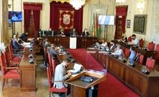 No a la futura ley de vivienda en el Ayuntamiento de Málaga