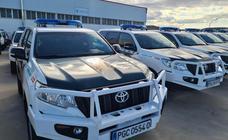 La Guardia Civil se blinda con nuevos coches para luchar contra las embestidas de los narcos en la Costa del Sol
