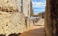 Las obras para proteger la cávea del Teatro Romano de Acinipo, en su recta final