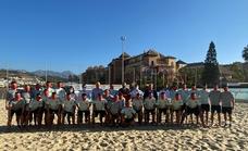La selección española de fútbol playa, concentrada en Torrox antes de disputar un torneo internacional en Dubai