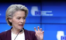 Von der Leyen rechaza financiar muros o alambradas para frenar la migración