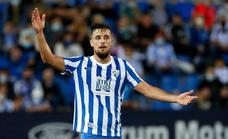 El Málaga estudia ofrecer una ampliación de contrato a Genaro