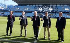 Las instituciones se abonan al Málaga y apuntan alto: «Se puede aspirar al ascenso»